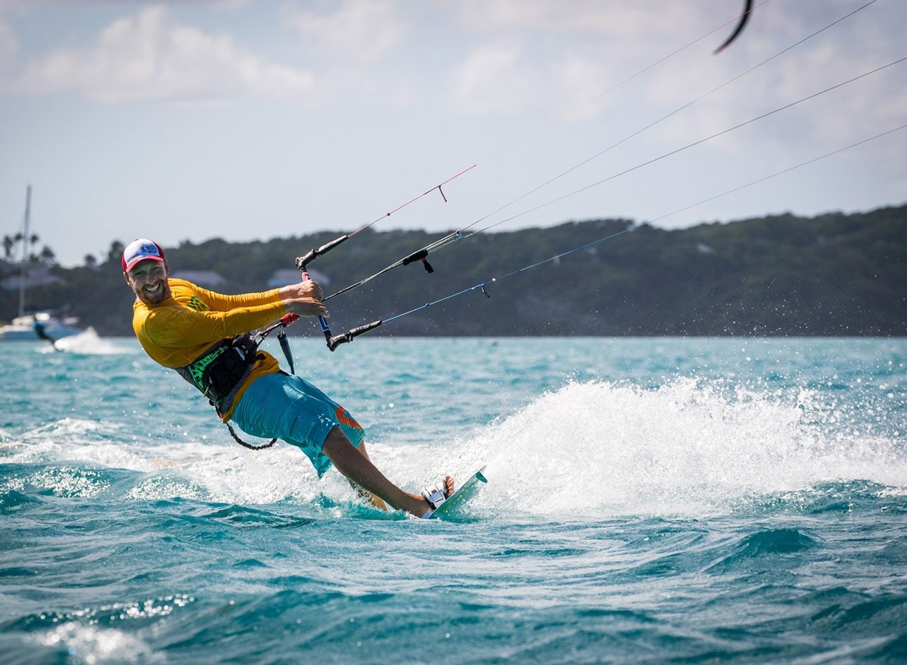 kitesurf equipment rental in the caribbean at 40knots
