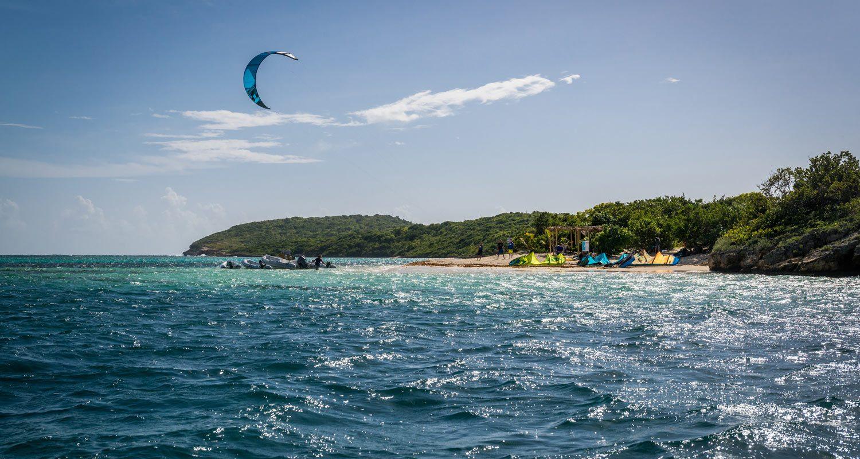Green Island Antigua Kite