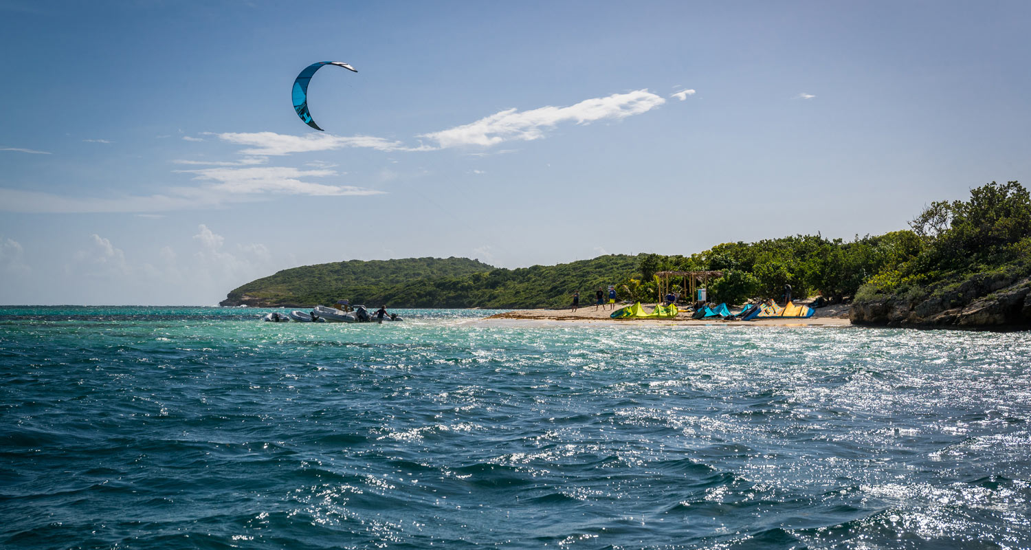 Green Island Antigua Kite