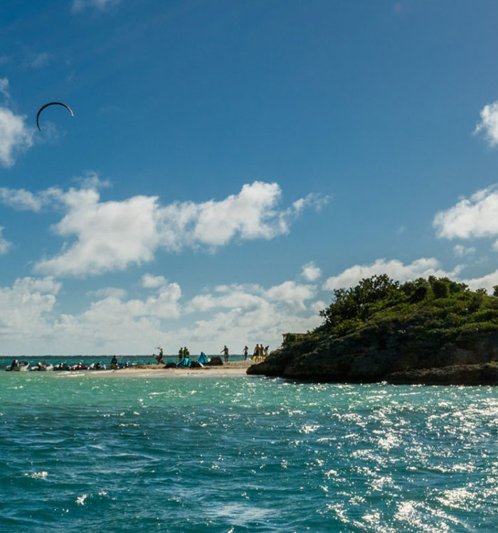 kitesurf in the caribbean