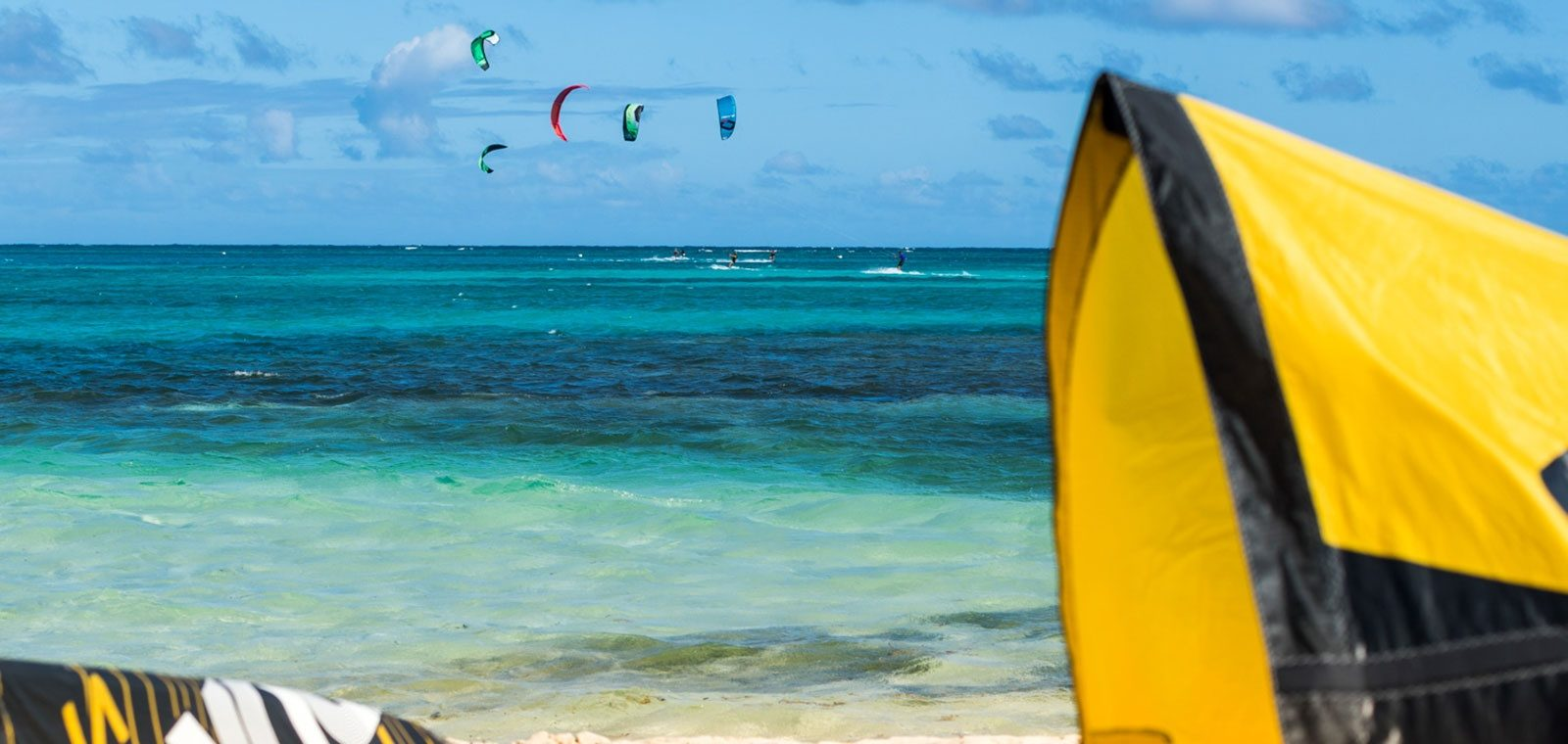kitesurf spot at green island