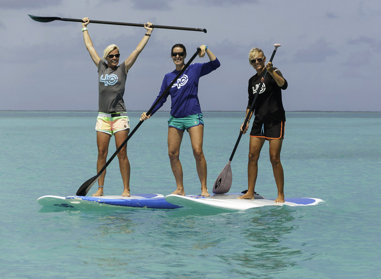 sup lesson in the caribbean