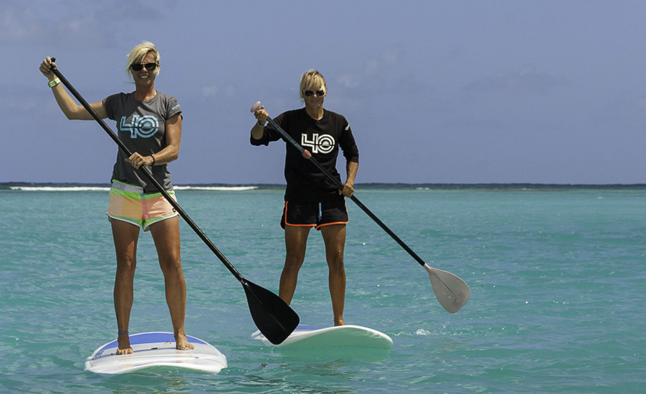 sup downwind in the caribbean