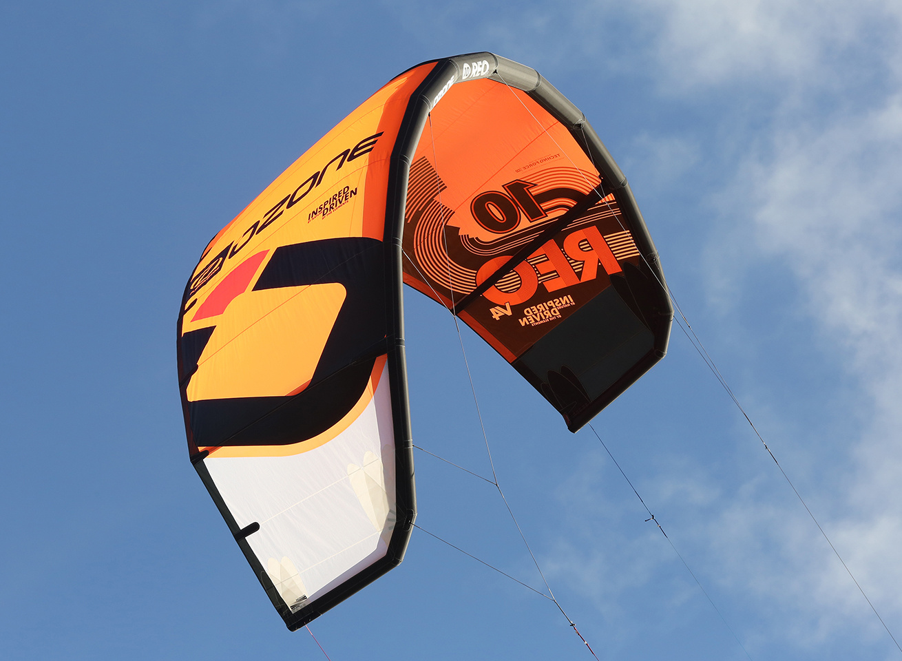 fly the ozone kites in antigua at 40knots