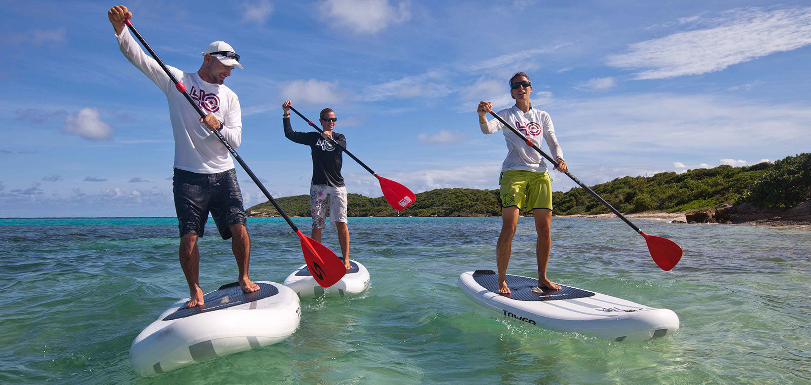 stand up paddle in the caribbean